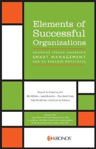 Elements of Successful Organizations