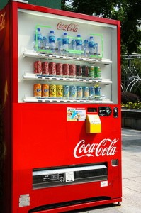 cashless vending machines