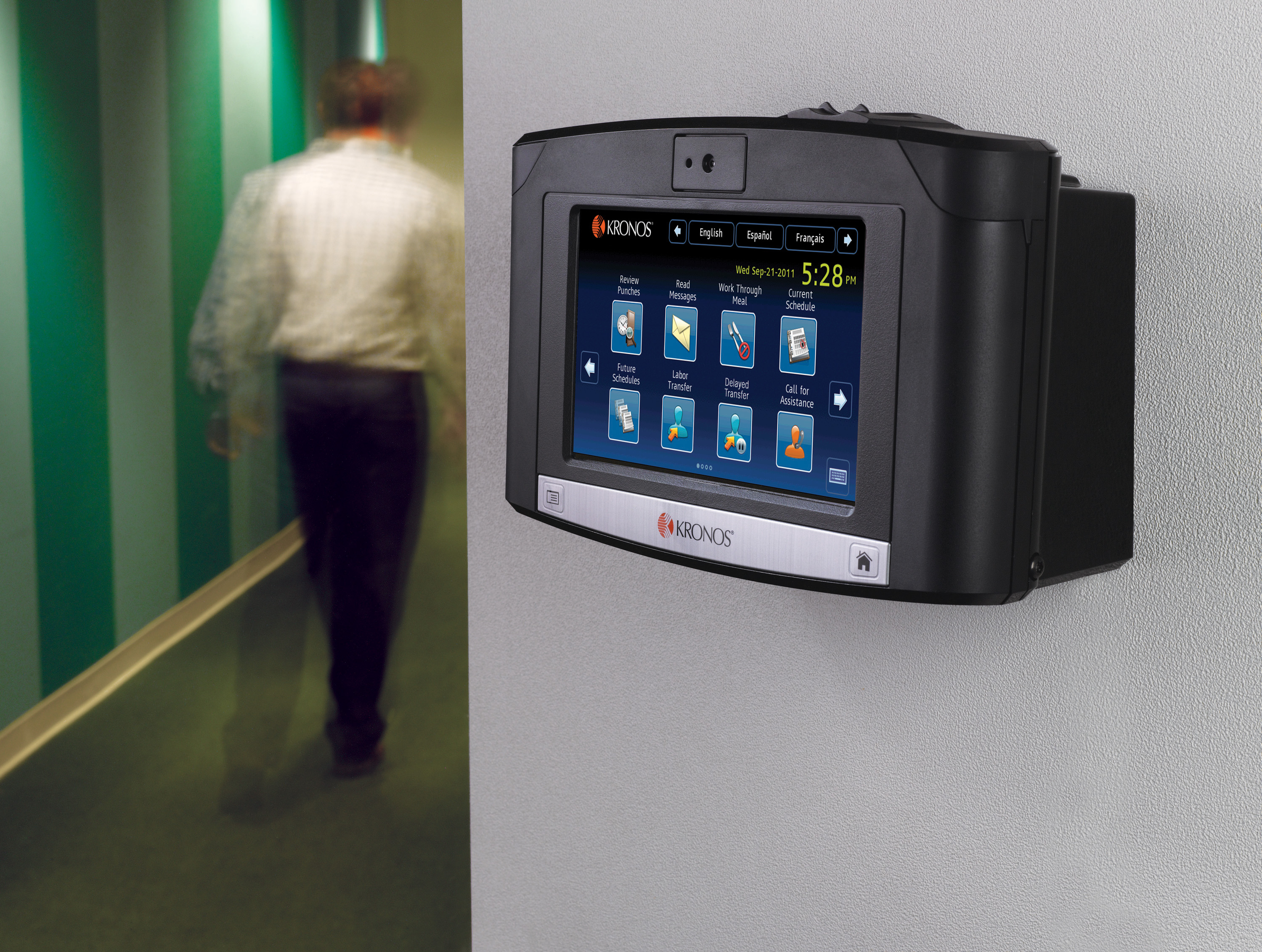 Global Demand For Kronos Intouch Time Clock Accelerates