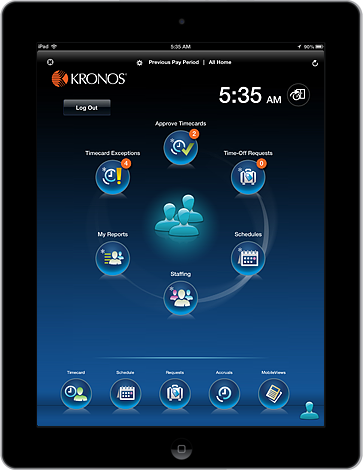 Kronos Unveils Workforce Tablet