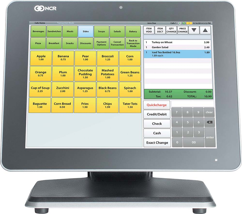 Quickcharge Pos For The Ncr Platform Point Of Sale System