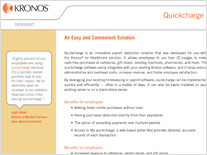 quickcharge and kronos