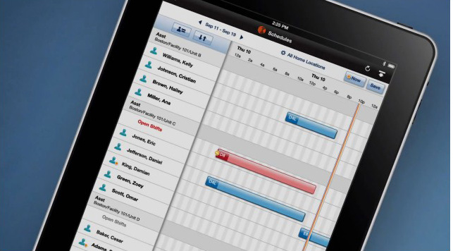 workforce central 7 tablet scheduling