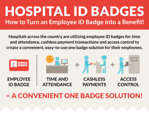 hospital id badge benefits