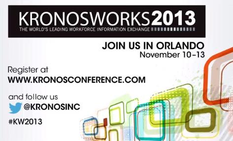kronosworks conference