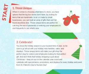 tips for holiday gift shops