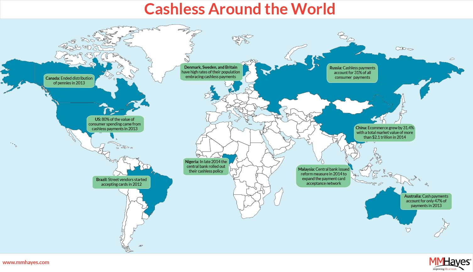 Cashless Map