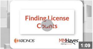 Finding License Counts
