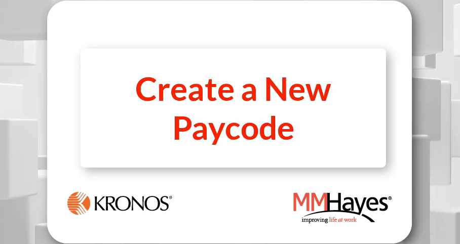 Add a New Paycode