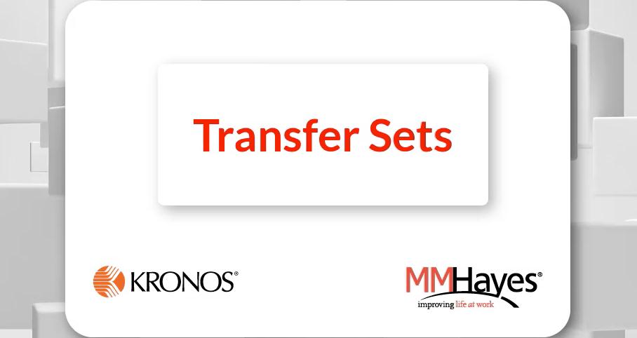 Transfer Sets