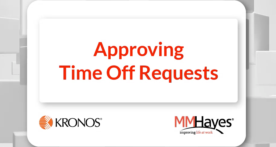 Approving Time Off Requests