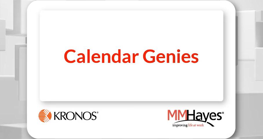 Calendar Genies