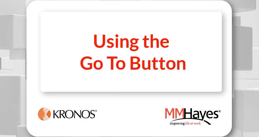 Using the Go To Button