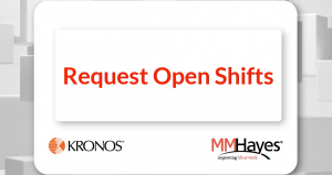 Request Open Shifts