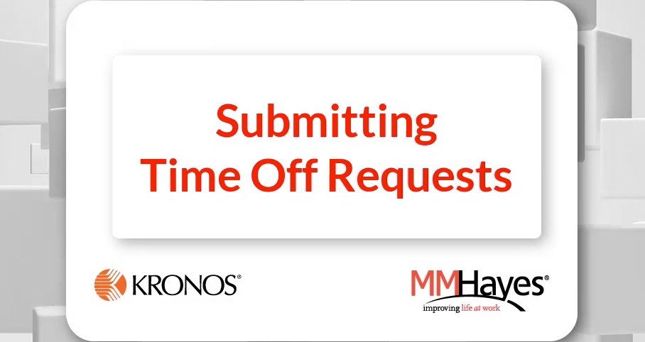 Submitting Time Off Requests